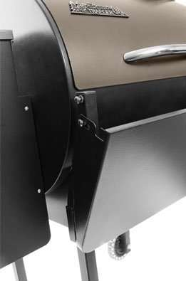 folding table for Traeger pellet grill