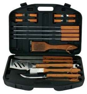 Mr. Bar-B-Q 94001X grill tool set