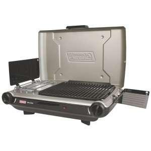coleman perfectflow 2 burner instastart grill stove review