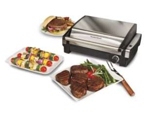 Hamilton beach indoor electric grill 25360