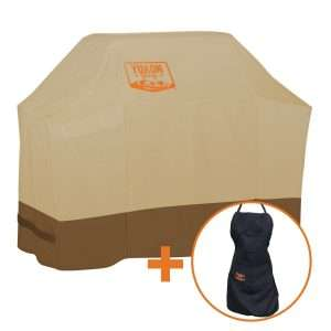 yukon glory 7573 tan colored grill cover review