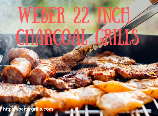 Weber 22 inch charcoal grills