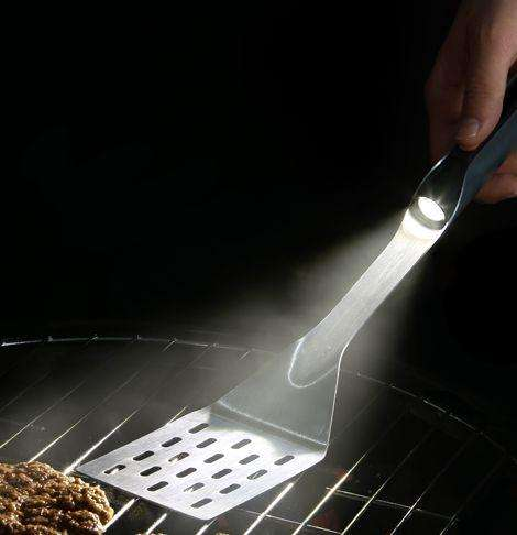 spatula with light
