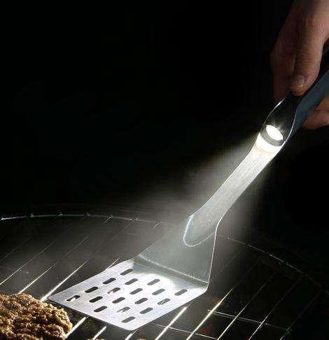 spatula with light
