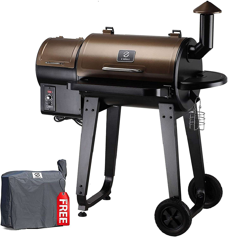 Z grills 450A wood pellet grill