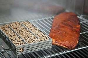 smoke box on a grill