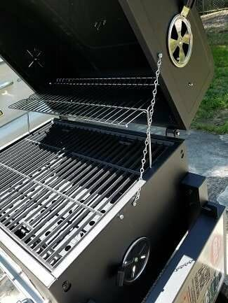 expert grill lid modification