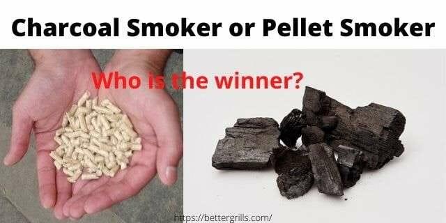 charcoal smoker versus pellet smoker