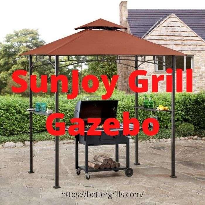 sunjoy grill gazebo